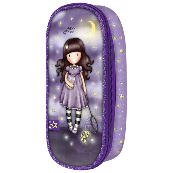 Pernica ovalna 1zip 1preklop Catch A Falling Star Gorjuss 384GJ15 - ODDO igračke