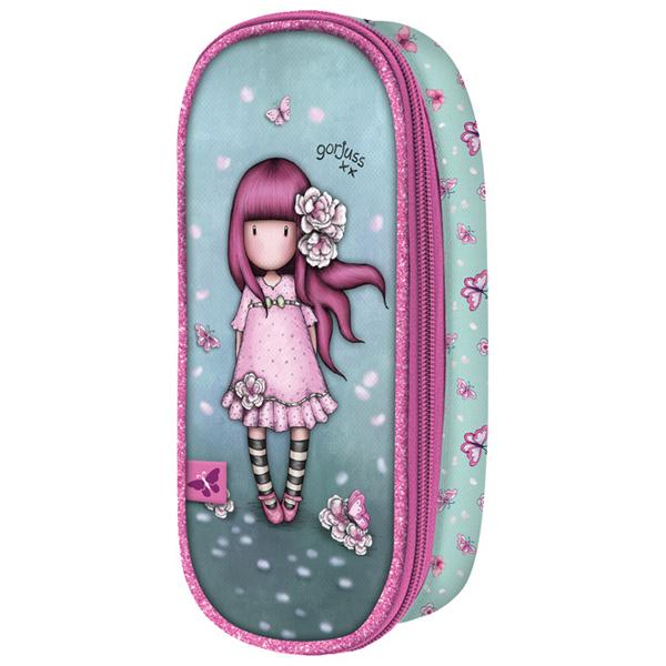 Pernica ovalna 1zip 1preklop Cherry Blossom Gorjuss 384GJ13 - ODDO igračke