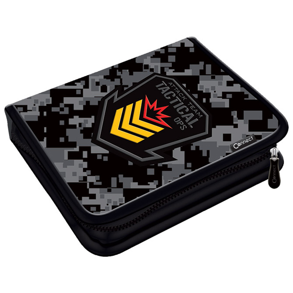 Pernica puna 1zip 2preklopa Army 1A 21.Connect 45034 crno-siva - ODDO igračke