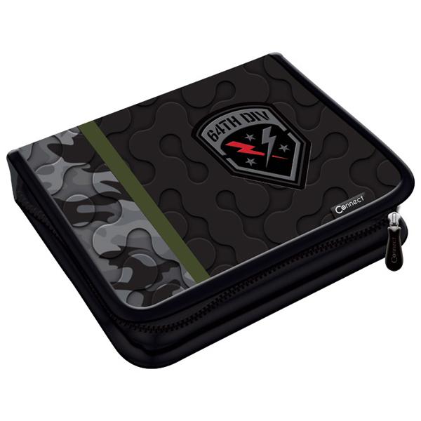 Pernica puna 1zip 2preklopa Army Camo Gray 1B 20.Connect 41964 crno-siva - ODDO igračke
