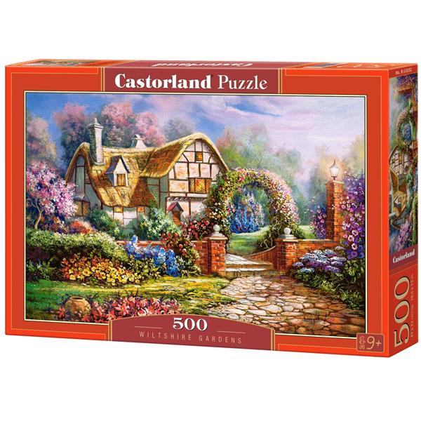Castorland puzzla 500 Pcs Wiltshire Gardens 53032 - ODDO igračke