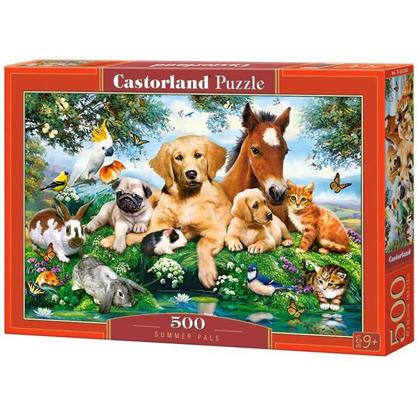 Castorland puzzla 500 Pcs Summer Pals 53230 - ODDO igračke