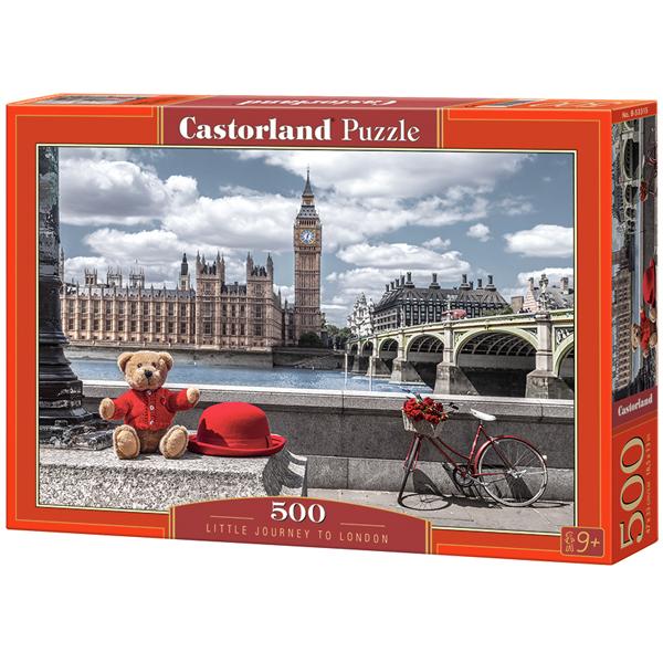 Castorland puzzla 500 Pcs Little Journey to London 53315 - ODDO igračke