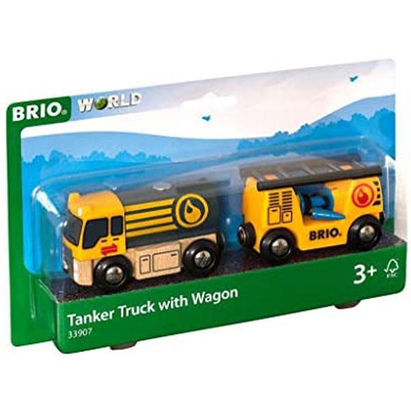 Brio - Cisterna sa vagonom BR33907 - ODDO igračke