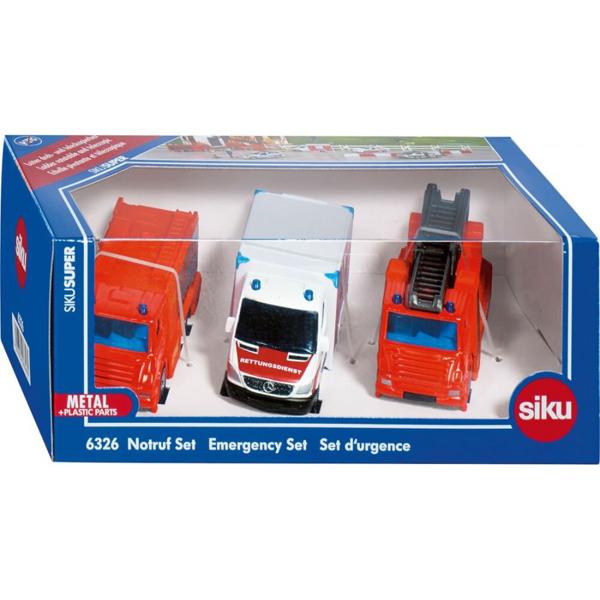 Siku Set vatrogasnih vozila 6326S - ODDO igračke