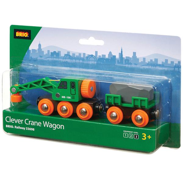 Brio - Clever kran vagon BR33698 - ODDO igračke