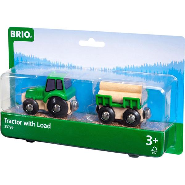 Brio - Traktor sa prikolicom BR33799 - ODDO igračke