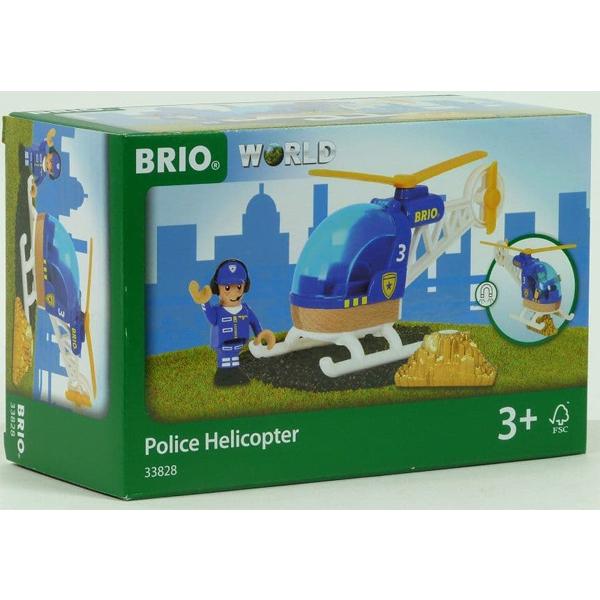 Brio - Policijski helikopter BR33828 - ODDO igračke