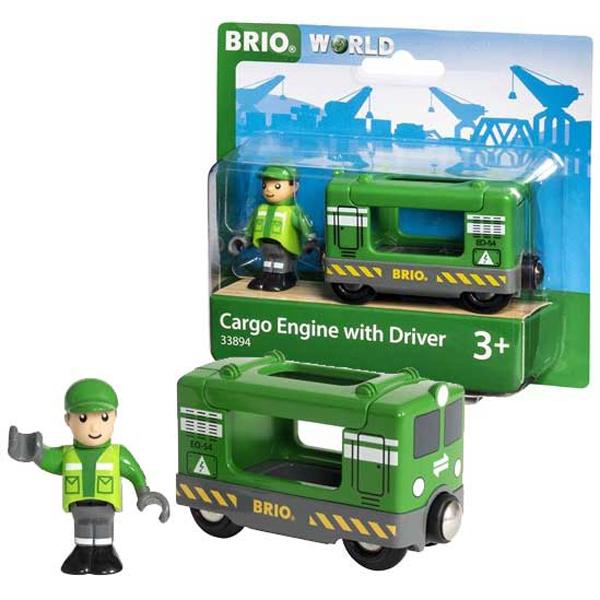 Brio - Teretna lokomotiva sa vozačem BR33894 - ODDO igračke