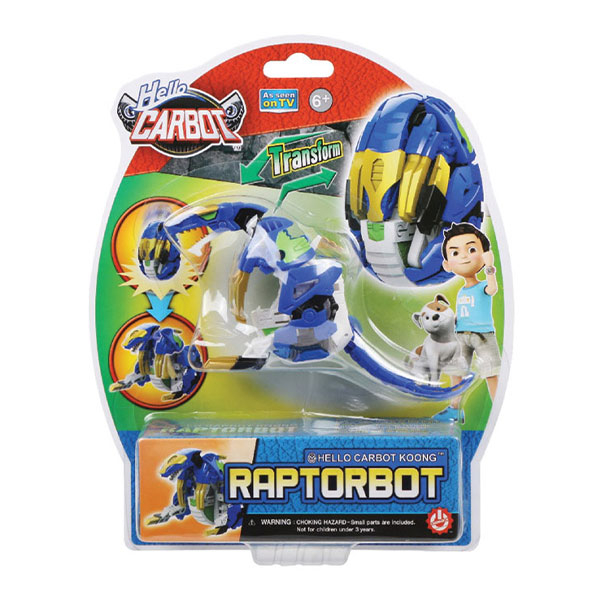 Hello Carbot – Raptorbot HC26107 - ODDO igračke