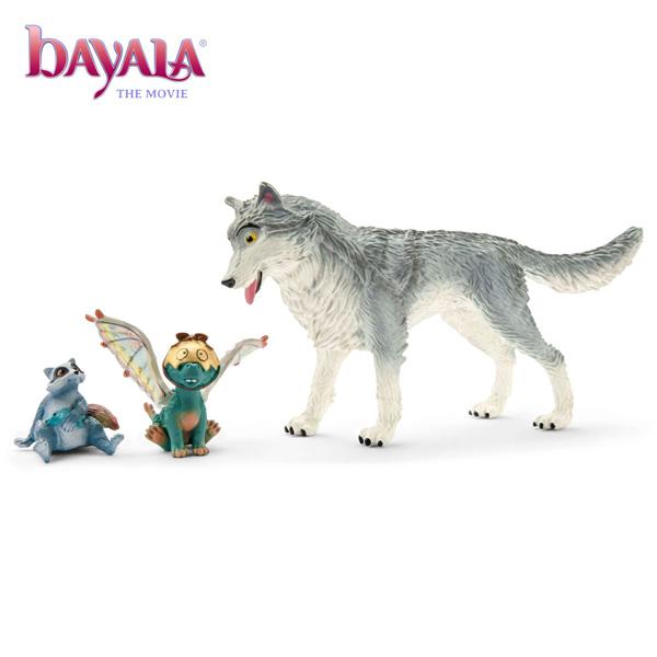 Schleich Bayala MOVIE Lykos, Nugur & Piuh 70710 - ODDO igračke