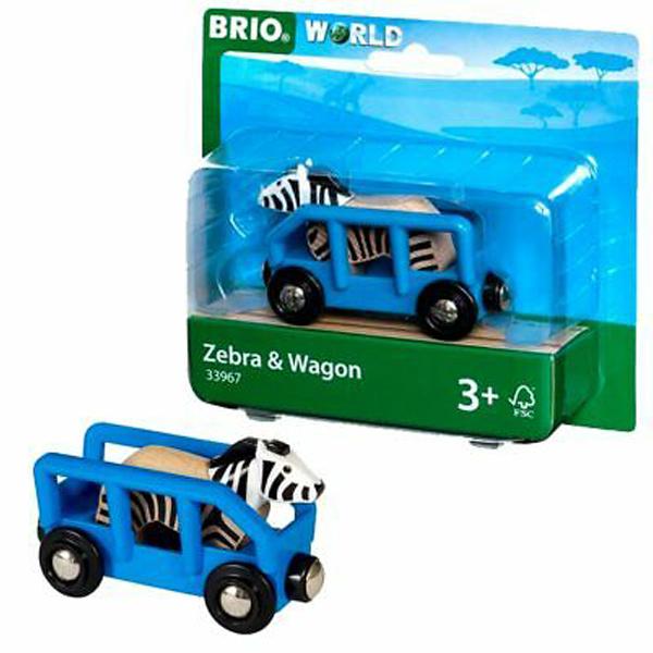 Brio - Zebra i vagon BR33967 - ODDO igračke