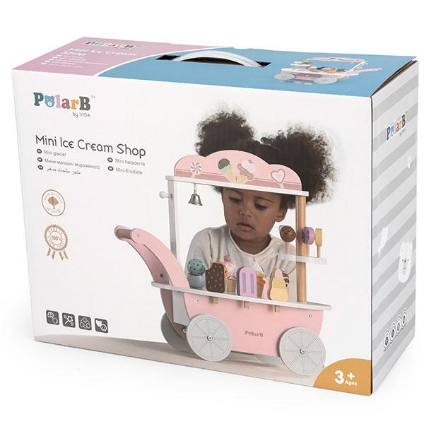 Drveni mini sladoledžija PB 44054 - ODDO igračke