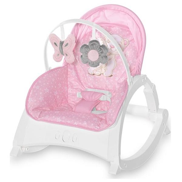 Ležaljka/ljuljaška Enjoy Pink Hug 10110112158 - ODDO igračke