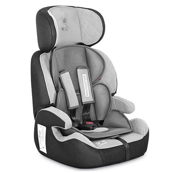 Lorelli Auto Sedište Navigator (9-36kg) Grey 10070902110 - ODDO igračke