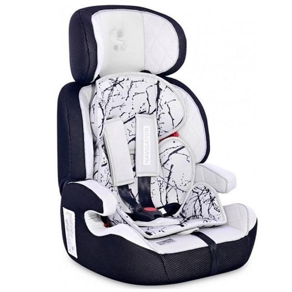 Lorelli Auto Sedište Navigator (9-36kg) Grey Marble 10070902113 - ODDO igračke