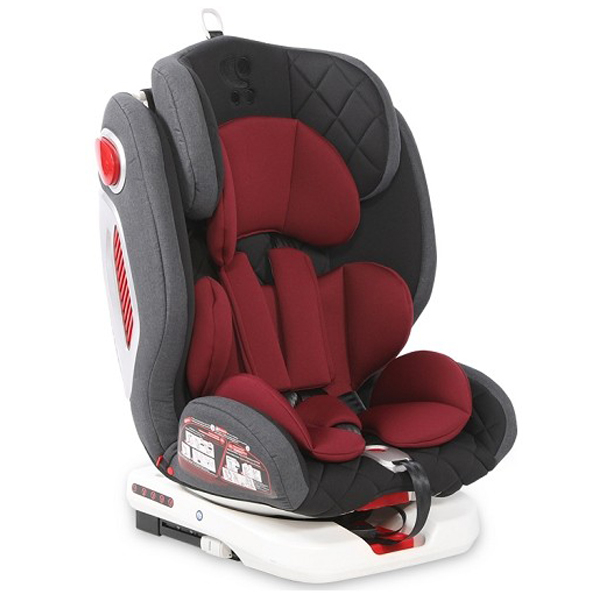 Lorelli Auto Sedište Roto Isofix (0-36kg) Black&Red 10071272002 - ODDO igračke