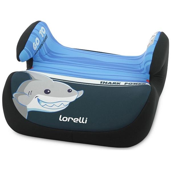 Lorelli auto sedište Topo Comfort (15-36kg) Shark Light-Dark Blue 10070992004 - ODDO igračke
