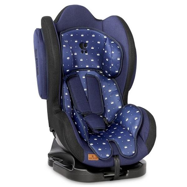 Lorelli Auto Sedište Sigma 0-25kg Dark Blue Crowns 10071032016 - ODDO igračke