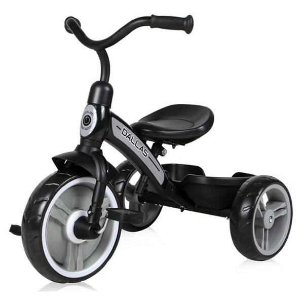 Tricikl Dallas Black Lorelli 10050500019 - ODDO igračke