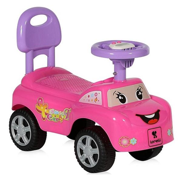 Lorelli Guralica Ride-On Auto My Friend Pink 10400040004 - ODDO igračke