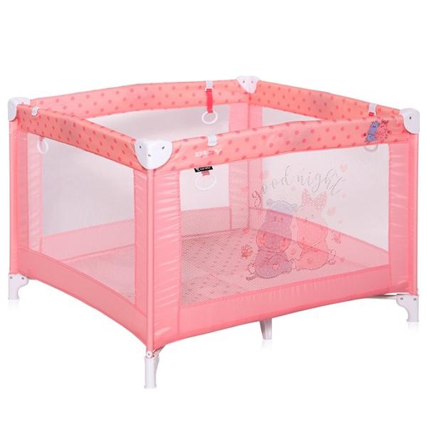 Lorelli Ogradica Play Pink Hippo 10080052028 - ODDO igračke