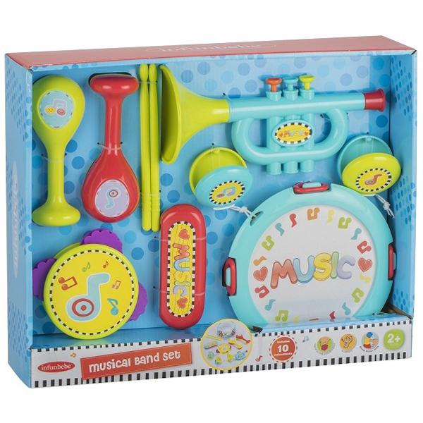Infunbebe igračka za bebe Muzički bend set (12m+) ML6610 - ODDO igračke