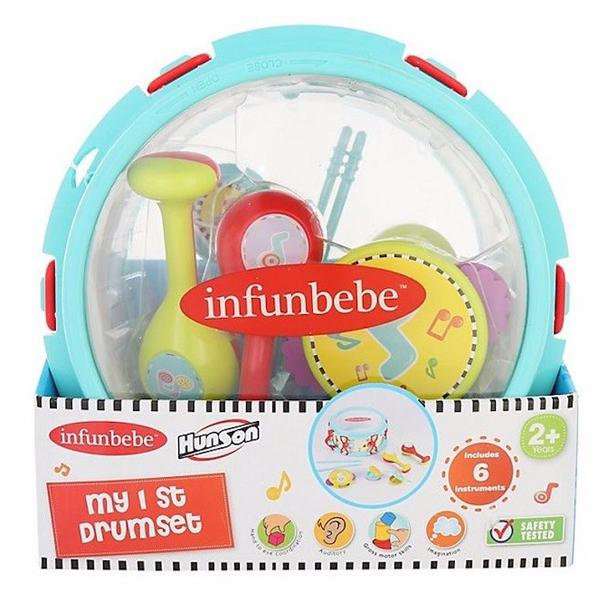 Infunbebe Igračka za bebe Moji prvi bubnjevi 2G+ ML6601 - ODDO igračke