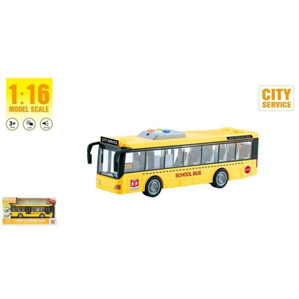 Autobus 1:16 sa zvukom i svetlom WY910A  - ODDO igračke