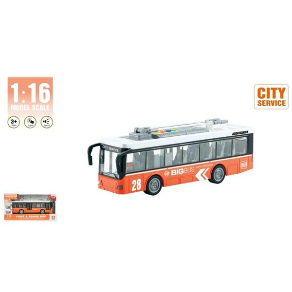 Autobus 1:16 sa zvukom i svetlom WY911B - ODDO igračke