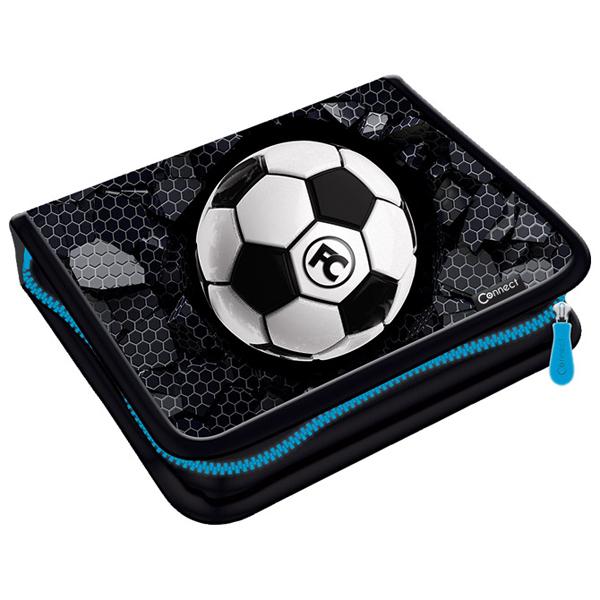 Pernica puna 1zip 2preklopa Football 1A 21.Connect 45048 crno-siva - ODDO igračke