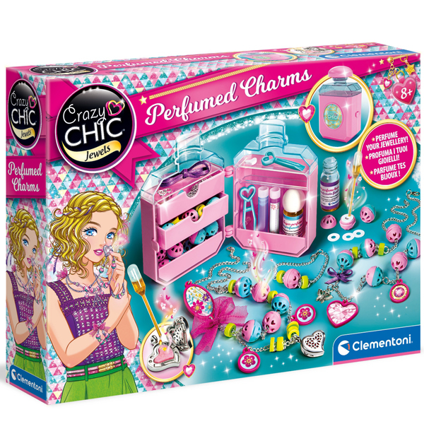 Crazy Chic Perfumed Charms CL18600 - ODDO igračke