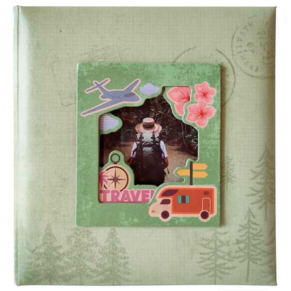 Album 10X15/200 Travel Green K2913G - ODDO igračke
