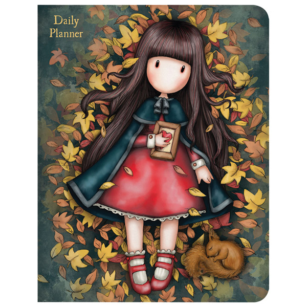 Dnevni planer 11,5x14,5cm Autumn Leaves Gorjuss 975GJ02 - ODDO igračke