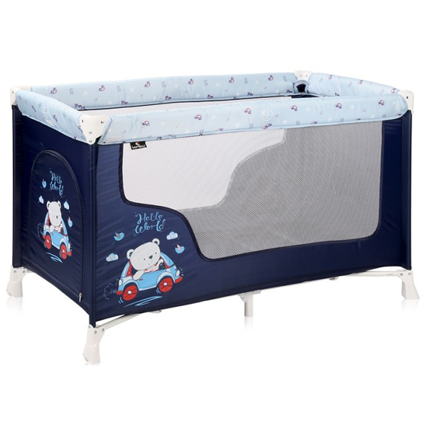 Lorelli Prenosivi Krevetac STR 1 Nivo Blue Bear 10080502072 - ODDO igračke