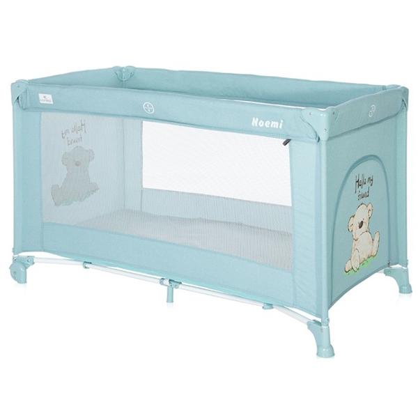 Lorelli Prenosivi Krevetac Noemi 1 Nivo Blue Surf Teddy 10080542156 - ODDO igračke