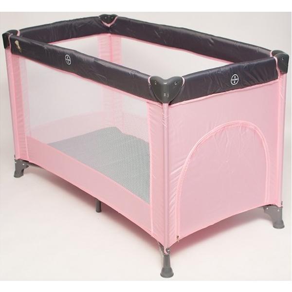 Baby Bear Origin Prenosivi Krevetac 1 Nivo Dream and Play Pink P902PINK - ODDO igračke