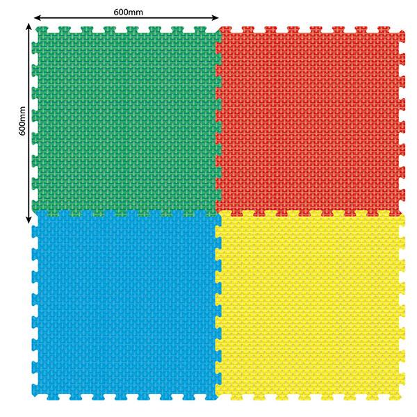 Podne Puzzle Velike Reljefne P-0410 - ODDO igračke