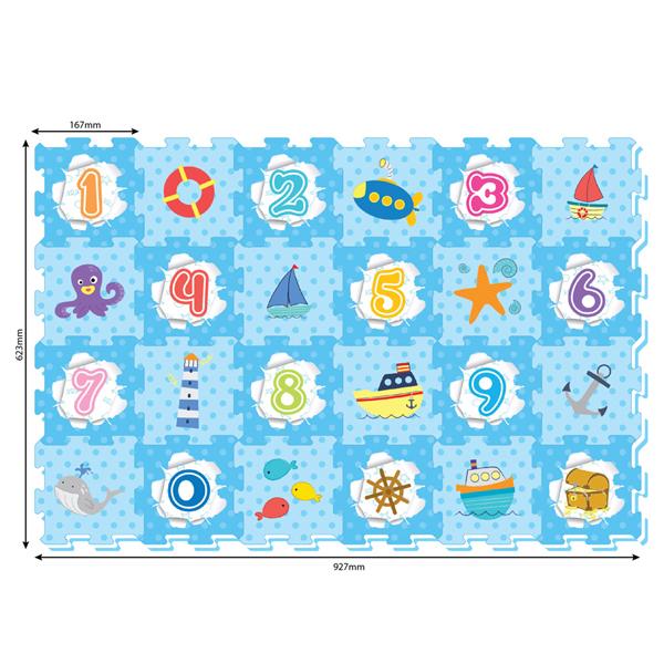 Podna Puzzla More 3102 - ODDO igračke