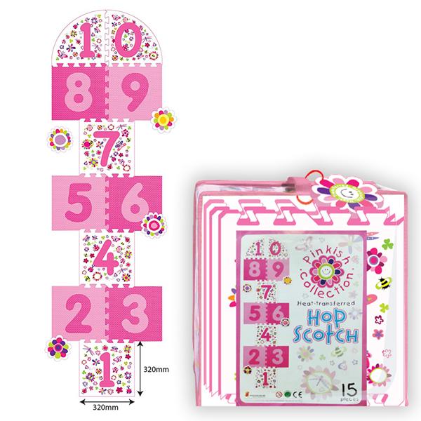 Podna Puzzla Školica Roze 1015PK - ODDO igračke