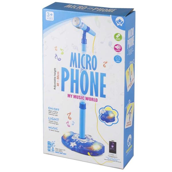 Mikrofon plavi Best Luck BE836002 - ODDO igračke