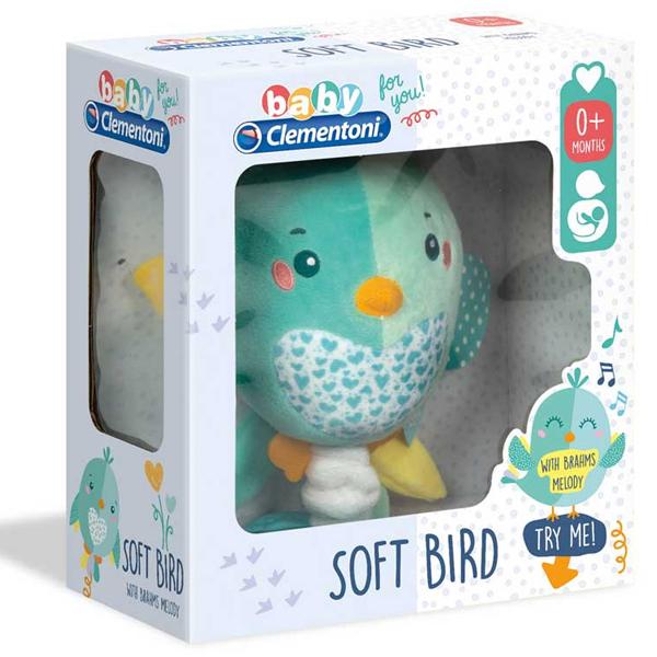 Baby muzička ptičica Clementoni CL17269 - ODDO igračke
