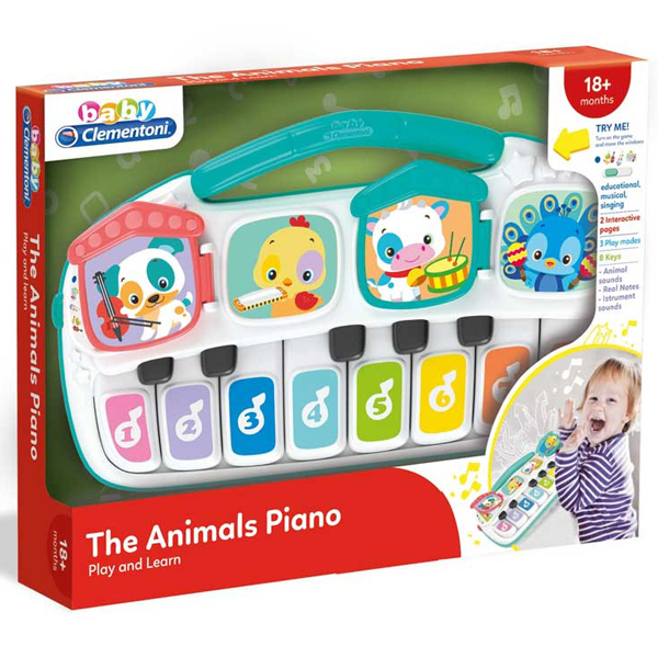 Interaktivni Zoo klavir Clementoni CL17334 - ODDO igračke
