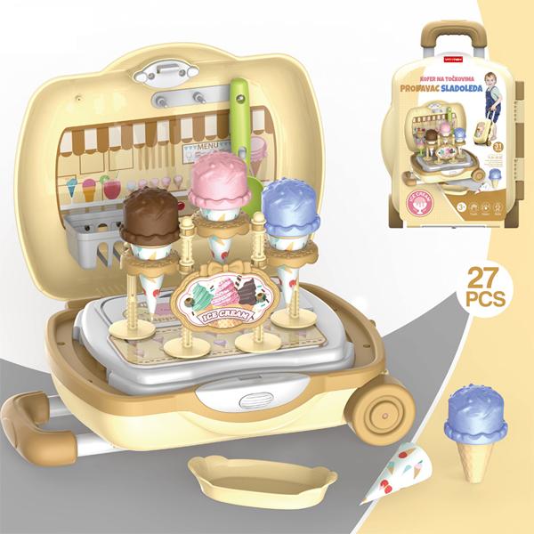 Kofer set Prodavac sladoleda P-0400 - ODDO igračke