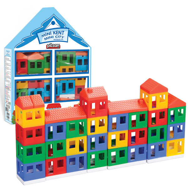 Pilsan Konstruktor moj grad PL-03-101 - ODDO igračke