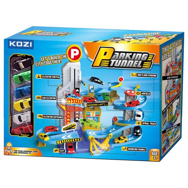 Garaža Set Sa Autićima Kozi 0300053 - ODDO igračke