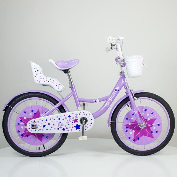 Bicikl dečiji Be Star ljubičasti model 709-20 - ODDO igračke