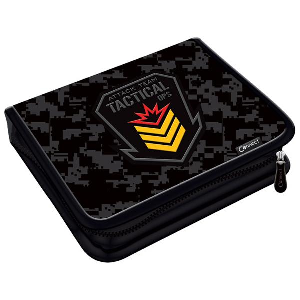 Pernica puna 1zip 2preklopa Army 1B 21.Connect 45035 crno-siva - ODDO igračke