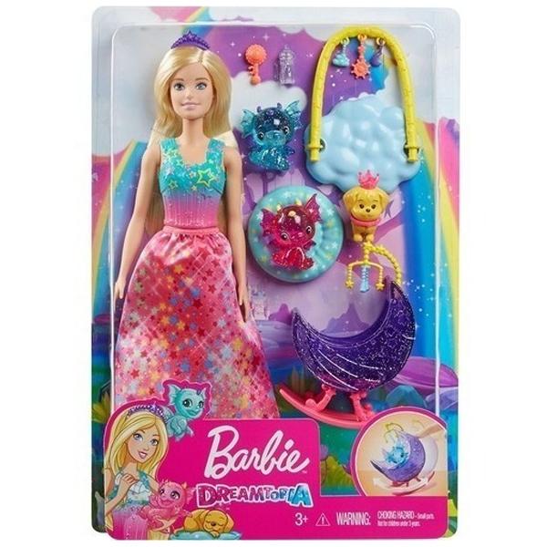 Barbie lutka Dreamtopia Dragon Nursery set za igru GJK51 - ODDO igračke
