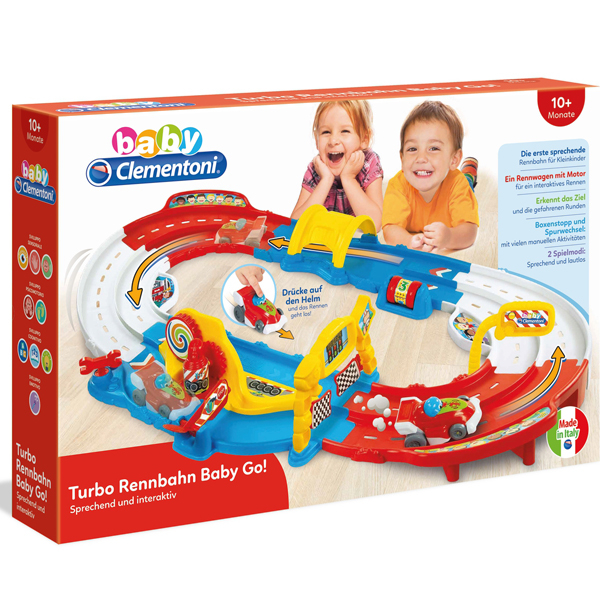 Clementoni Staza Baby Turbo Racecourse Baby Go 59131 - ODDO igračke